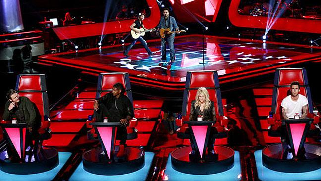 The Voice April 1st Judges - H 2013