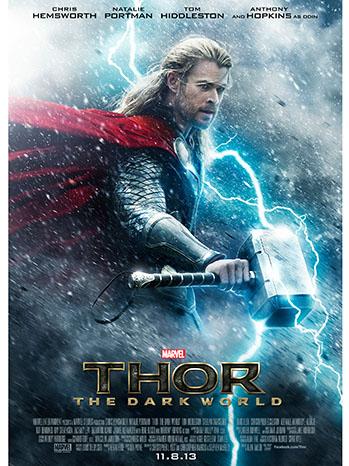 Thor The Dark World Poster Art - P 2013