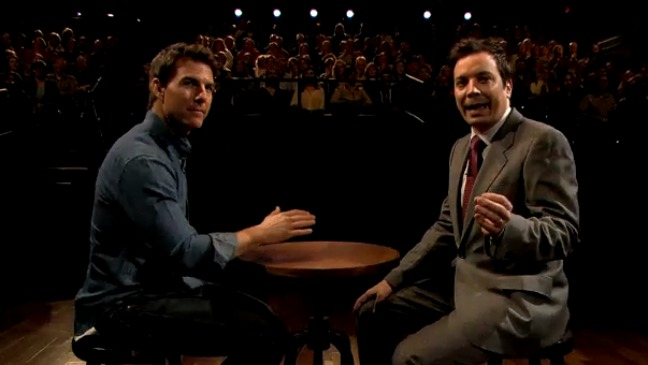 Tom Cruise Jimmy Fallon - H 2013