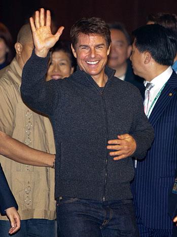 Tom Cruise Taiwan - P 2013