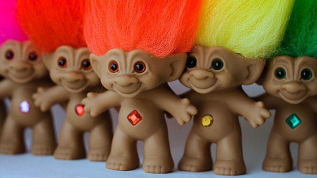 Troll Dolls Group - H 2013