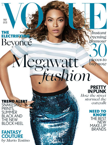 Beyonce Vogue Cover - P 2013