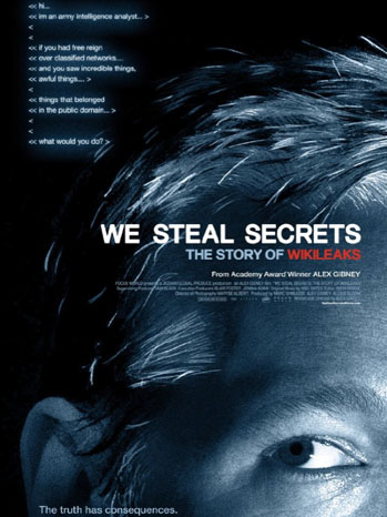 We Steal Secrets Poster - P 2013