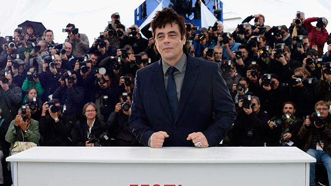 Benicio Del Toro Jimmy P Cannes 2013