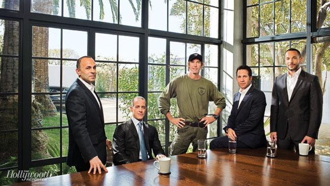 Warren Dern, Jason Sloane, Michael Bay, Robert Offer and David Weber