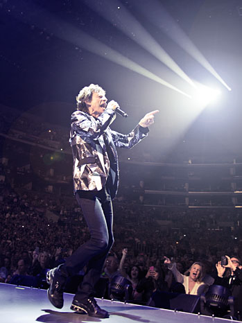 Jagger on the Mic