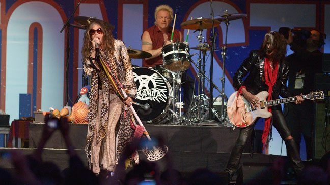 Aerosmith Performing Boston Strong Benefit - H 2013