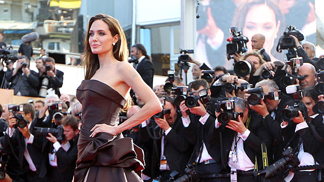 Angelina Jolie Cannes Press Line - H 2013