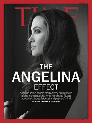 Angelina Jolie Time Magazine Cover - P 2013