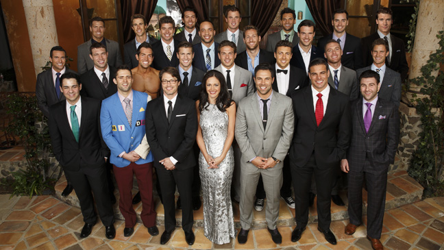 The Bachelorette Desiree with guys Premiere - H 2013