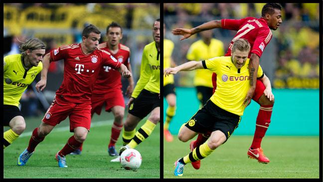 Bayern Dortmund Split 1- H 2013