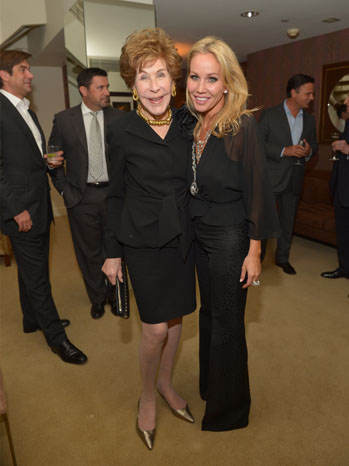 Betsy Bloomingdale and Brooke Davenport - P 2013