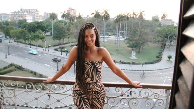 Beyonce Cuba - H 2013