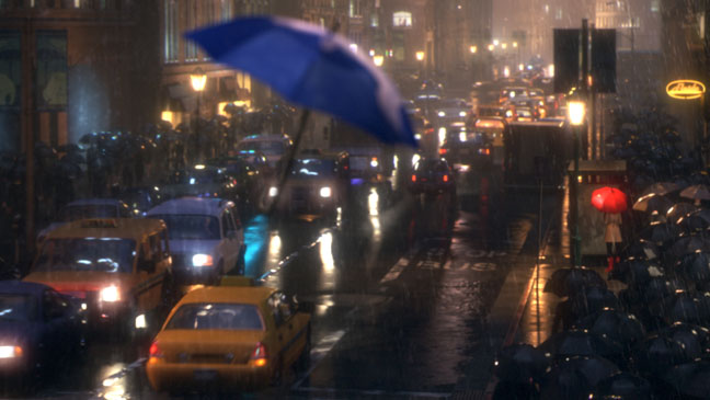 Blue Umbrella - H 2013