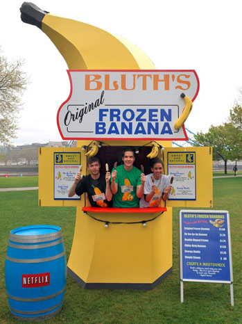 Bluth's Banana Stand - p 2013