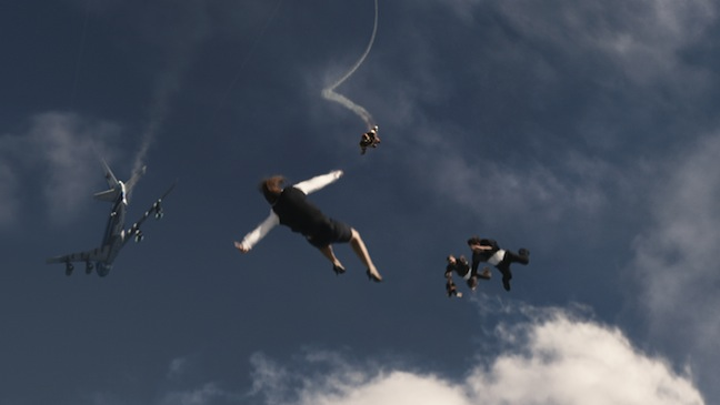 Iron Man 3 VFX Skydive H