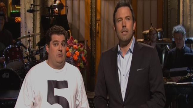 Bobby Moynihan Ben Affleck SNL - H 2013