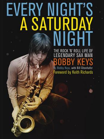 Bobby Keys book cover P