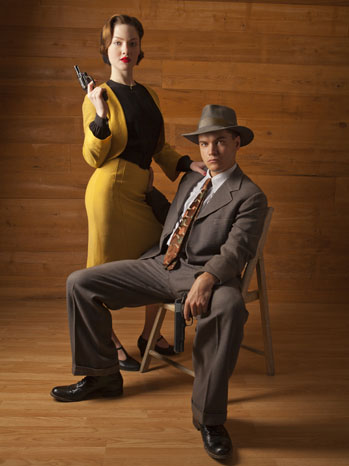 Bonnie and Clyde Portrait - P 2013