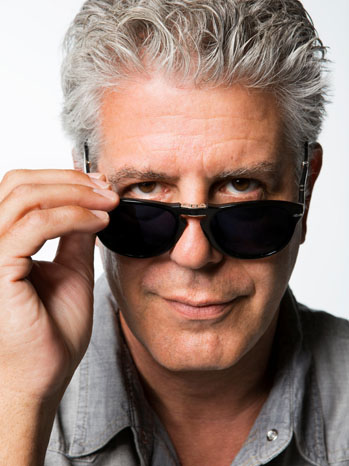 Anthony Bourdain CNN Headshot - P 2013