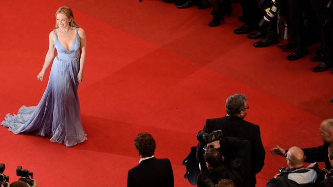 Cannes Red Carpet High View - H 2013