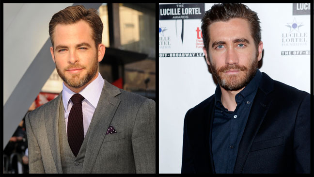 Chris Pine Jake Gyllenhaal - H 2013