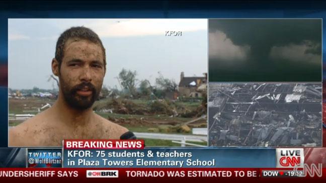 CNN Network Coverage Oklahoma - H 2013