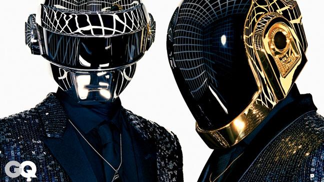 Daft Punk GQ Portrait - H 2013