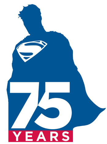 DC Comics Superman 75 Years Logo - P 2013