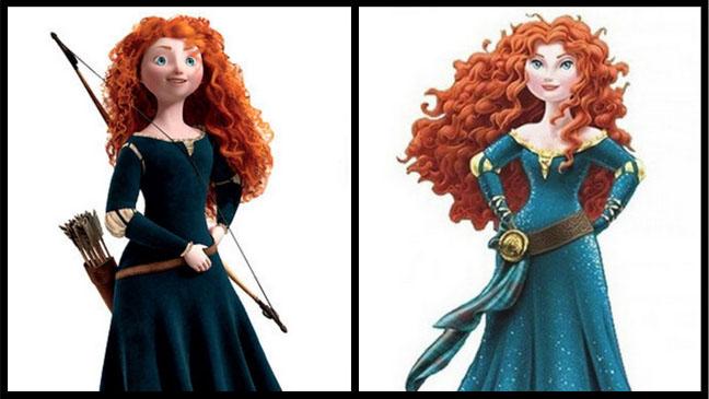 Brave Disney Princess Split - H 2013