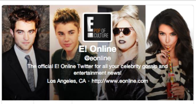 E! Online Twitter Hack
