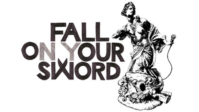 Fall On Your Sword Logo - H 2013
