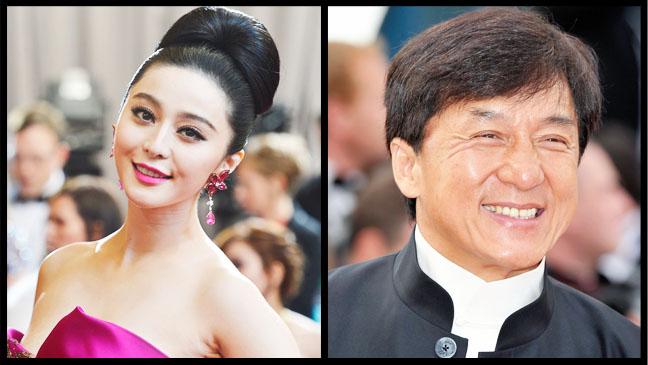 Fan Bingbing Jackie Chan Split - H 2013