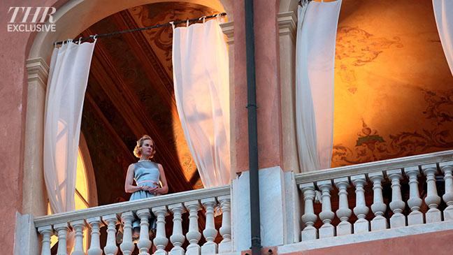 Nicole Kidman Grace Monaco Balcony - H 2013