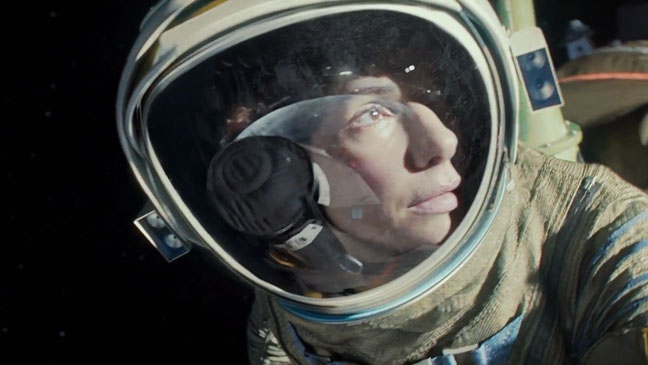Gravity Trailer Screengrab - H 2013