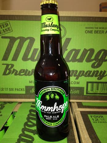 Hanson Mmmhops beer P