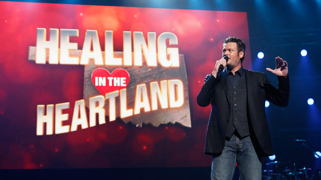 Healing in the Heartland Benefit Blake Shelton - H 2013