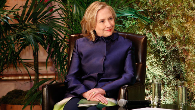 Hillary Clinton Conservation International - H 2013