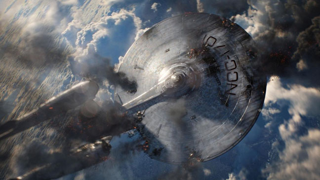Star Trek Into Darkness U.S.S. Enterprise - H 2013
