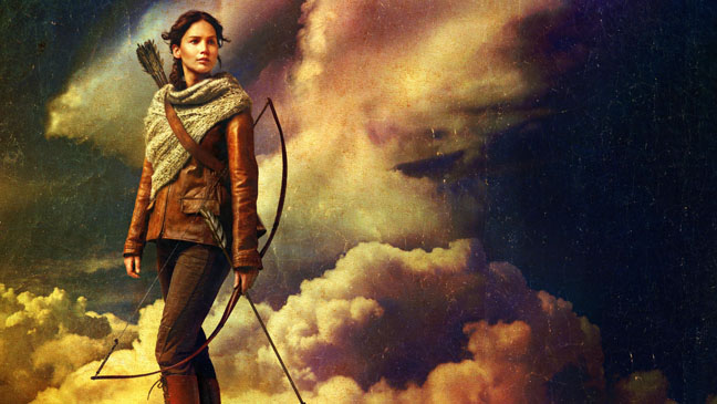 The Hunger Games: Catching Fire Poster Crop Lawrence - H 2013
