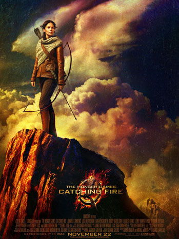 The Hunger Games: Catching Fire one sheet - P 2013