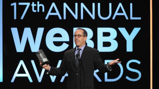 Jerry Seinfeld at Webby Awards - H 2013