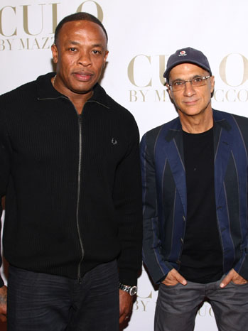 Jimmy Iovine and Dr. Dre - P 2013