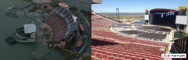 Jones Beach theater before after L