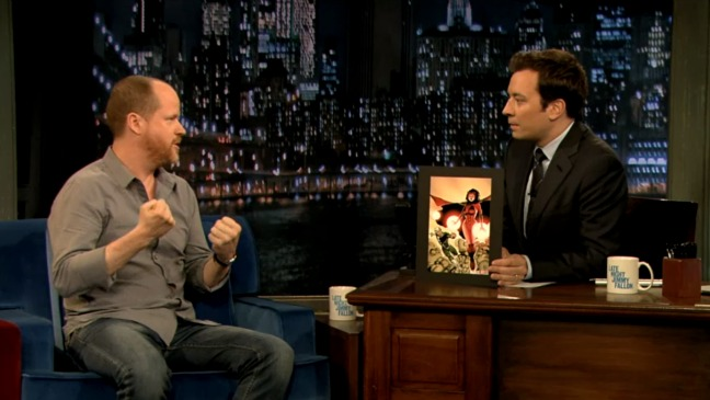 Joss Whedon Jimmy Fallon - H - 2013