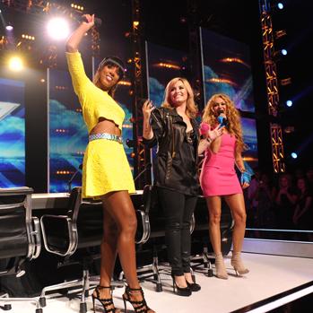 Kelly Rowland Paulina Rubio Demi Lovato X Factor 2013 P