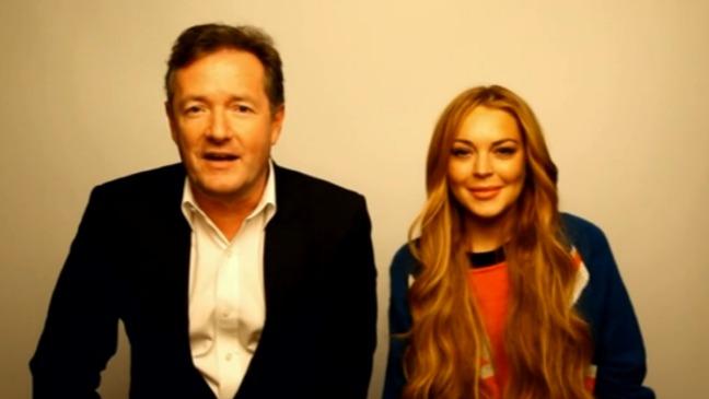 Lindsay Lohan Piers Morgan Daily Mail