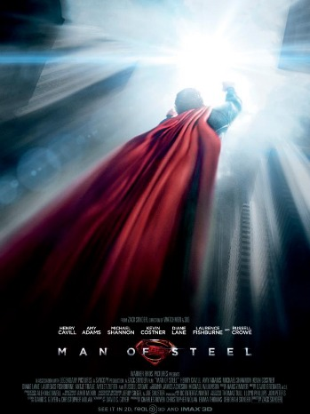 Man of Steel Poster 2 - P - 2013