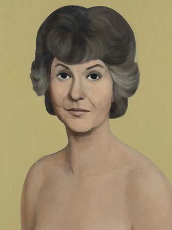 Naked Bea Arthur Painting CROP - P 2013