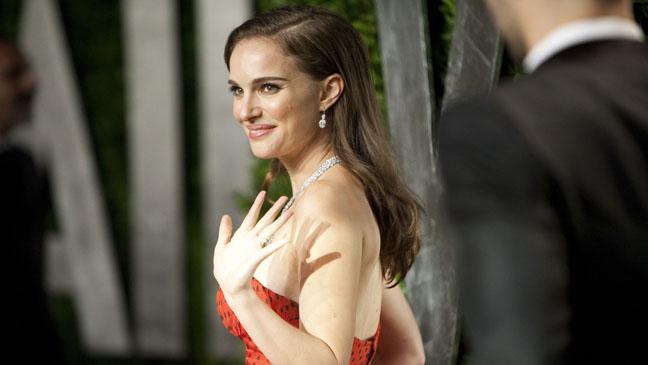 Natalie Portman Horizontal Vanity Fair Party - H 2013
